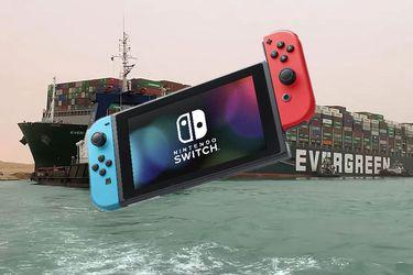 El bloqueo en el canal de Suez afectó los envíos de Nintendo Switch