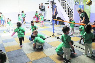 Ministro de Educacion visita Jardín Infantil Parque de los Reyes