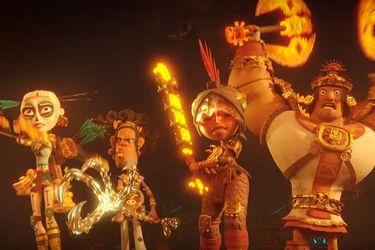 """Mitología, acción y aventura latina marcan al tráiler de """"Maya y los tres"""", la nueva serie animada de Netflix"""