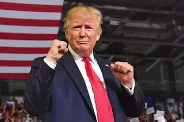 """El teaser de Borat 2 satiriza con Trump, """"el presidente más fuerte en la historia"""""""