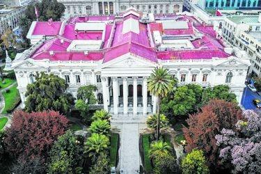 La Moneda y Cámara discuten las platas para una convención