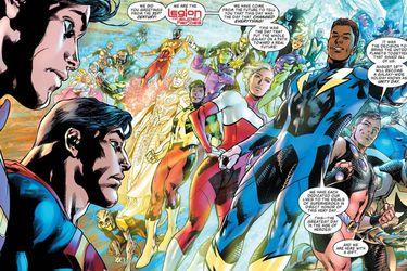 DC Comics reveló el spoiler del regreso de la Legión de Super-Héroes