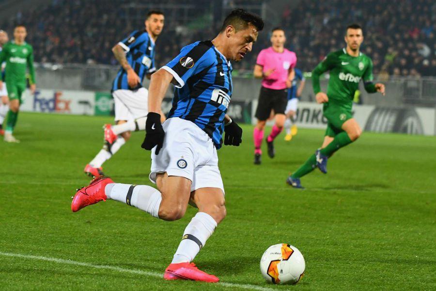 Alexis Sánchez | Inter vs Ludogorets