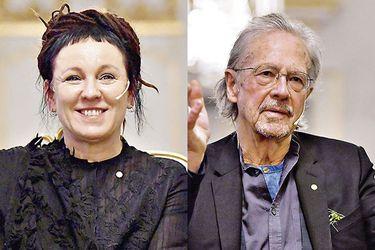 Llegan los libros de Olga Tokarczuk y Peter Handke, los Nobeles de Literatura