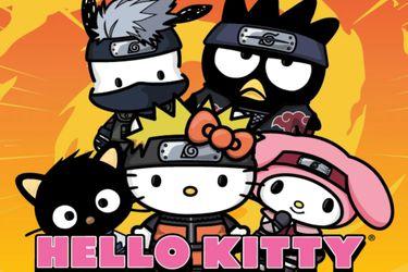Los mundos de Naruto y Hello Kitty se fusionan en la nueva línea de Funko Pop