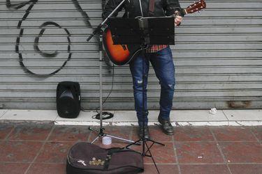 Artistas urbanos en Valparaiso