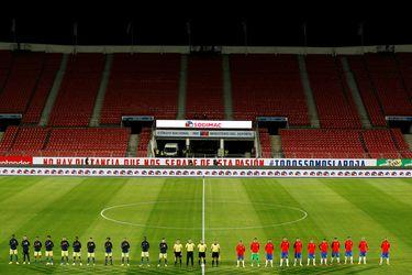 El fútbol chileno se prepara para recibir público: la ANFP espera un 30% de aforo en Eliminatorias