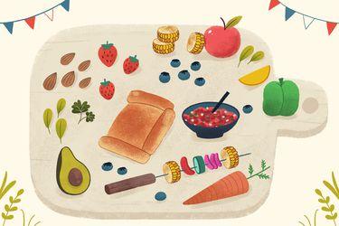 Por un Dieciocho sin carne: recetas y productos vegetarianos y veganos para el asado