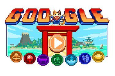 Con un 'doodle' en forma de videojuego Google celebra el inicio de los Juegos Olímpicos de Tokyo
