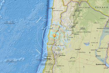 Así se vivió el sismo 6,3 en el norte del país