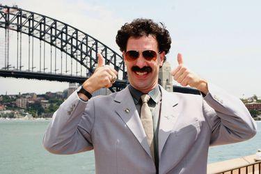 """Sacha Baron Cohen responde a Donald Trump: """"Aprecio la publicidad gratuita para Borat"""""""