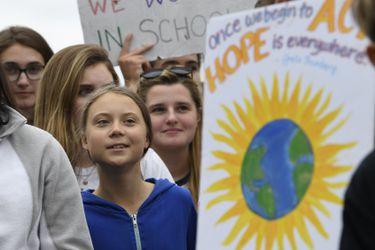 """Greta Thunberg espera que las huelgas climáticas sean un """"punto de inflexión social"""""""