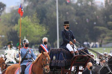 """Piñera tras la última Parada Militar bajo su gobierno: """"Uno cuando asume la Presidencia sabe que va a ser duro y a nosotros nos ha tocado especialmente difícil"""""""