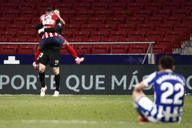 El Atlético da un paso más hacia la corona española