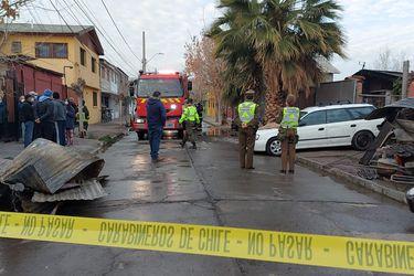 Tres personas fallecidas y un bombero lesionado de gravedad en un incendio en Recoleta