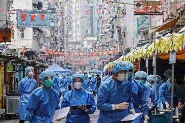 """Hong Kong utiliza estrategia de """"confinamientos inesperados"""" para paliar contagios"""