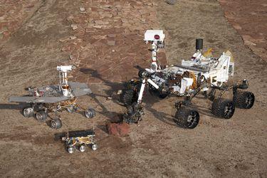 La singular historia de los cuatro robots de la Nasa en Marte (y otros que murieron en el intento)