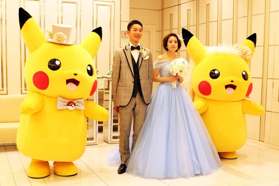 Pikachu boda