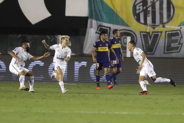 Santos golea a Boca y la final de la Libertadores será brasileña