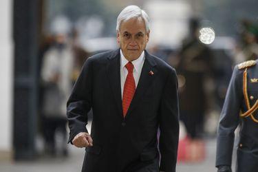 Piñera presenta ley Juan Barrios que endurece penas por quema de camiones y emplaza al Congreso a aprobar proyectos en materia de seguridad