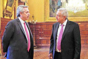 A. Fernández y AMLO buscan reconstruir eje de centroizquierda en la región