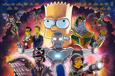 El póster de la parodia de The Avengers que harán en Los Simpson