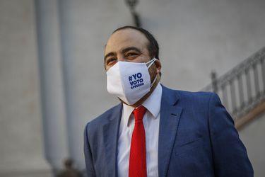 """Fuad Chahín tras elecciones primarias: """"Estoy muy contento de que Unidad Constituyente haya sido el pacto más votado por lejos"""""""