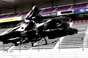 Startup japonesa sorprende lanzando una moto voladora