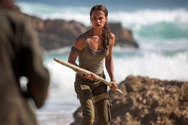 Alicia Vikander actualizó el estado de Tomb Raider 2