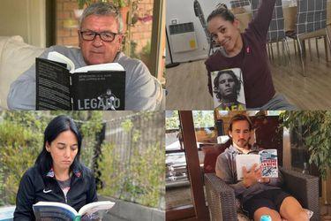 Buenos tiempos para la lectura: los protagonistas del deporte hacen sus recomendaciones