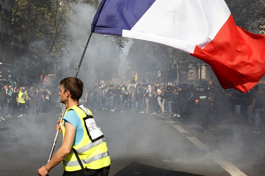 France Climate Protests