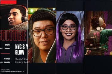 Spider-Man: Miles Morales presenta al resto de sus personajes
