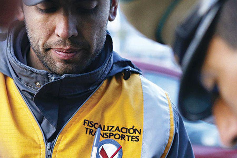 chilenos, transporte, fiscalizadores