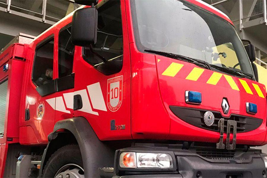 carro de bomberos de concepción