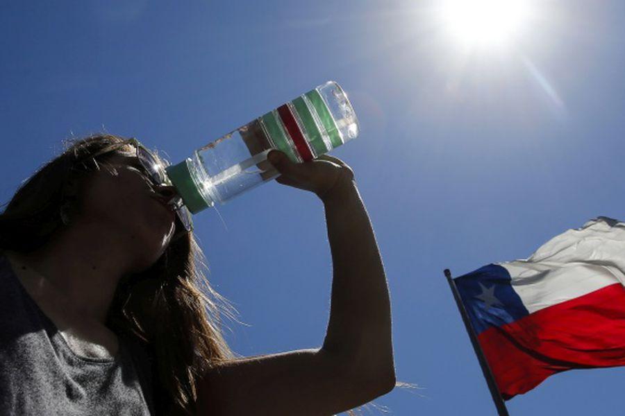 Ola de calor en zona central de Chile.