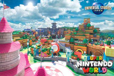 Un primer vistazo a Super Nintendo World en el parque de Universal Studios Japón