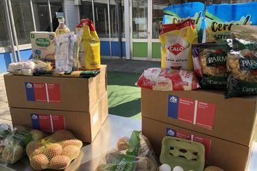Junaeb inicia 7º ciclo de entrega de canastas de alimentación escolar que beneficiará a 1 millón 800 mil estudiantes escolares y de educación parvularia