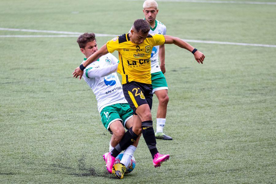 El árbitro Nicolás Millas denunció un hecho de racismo en el partido entre Puerto Montt y San Luis.