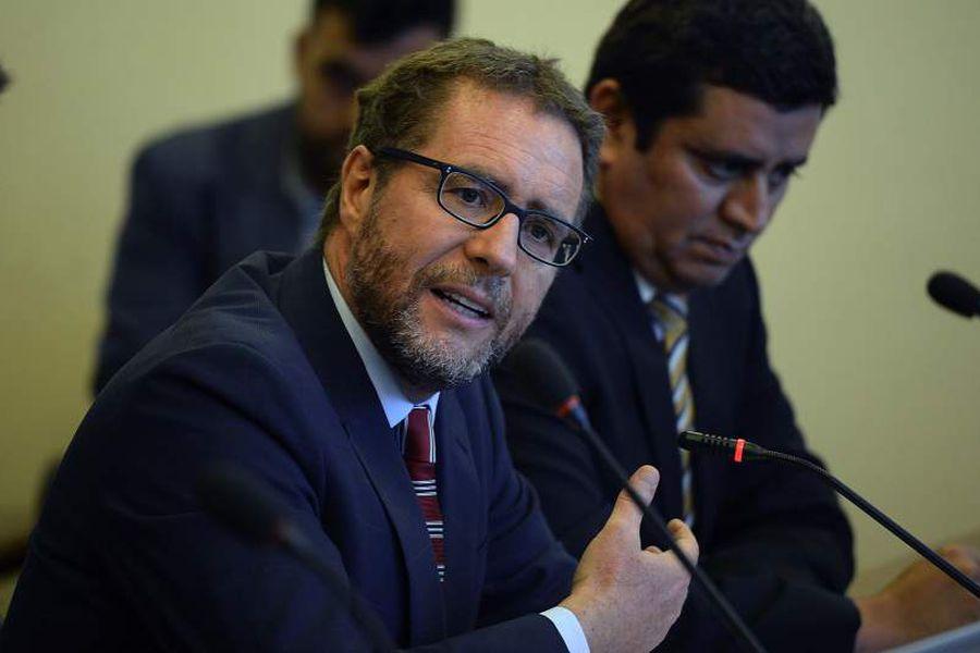 Felipe Irarrázabal, exFiscal Nacional Económico en la comisión de Economía