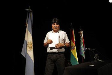 """Morales asegura que frustrar su candidatura al Senado es un """"error"""" y un """"atentado contra la democracia"""""""
