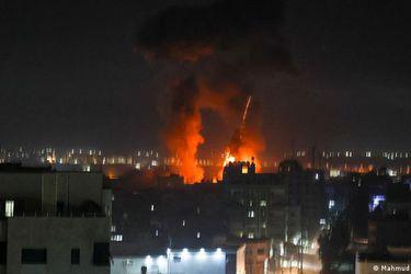 Fuerza  Aérea israelí bombardea una base militar de Hamás en Gaza