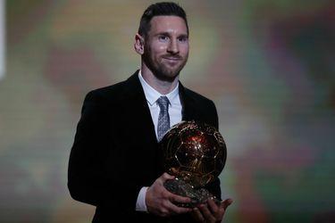 Lionel Messi gana por sexta vez el Balón de Oro