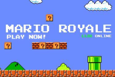 Mario Royale: El juego no oficial que crea una batalla real de Super Mario
