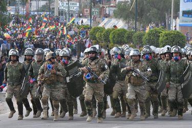 Fiscalía boliviana detiene a primer jefe militar por violencia política en 2019