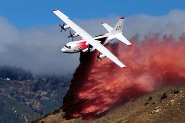 Los aviones de este tipo se utilizan en muchos países para combatir incendios forestales (Archivo)