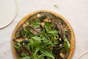 Paula Cocina En Casa: Revive el programa por Zoom de Pizza Verde con Masa de Quínoa y Camote, Palta y Súper Pesto