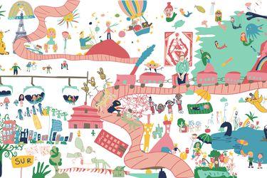Más de 300 dibujos reúne exposición virtual de Teletón por el Mes del Niño