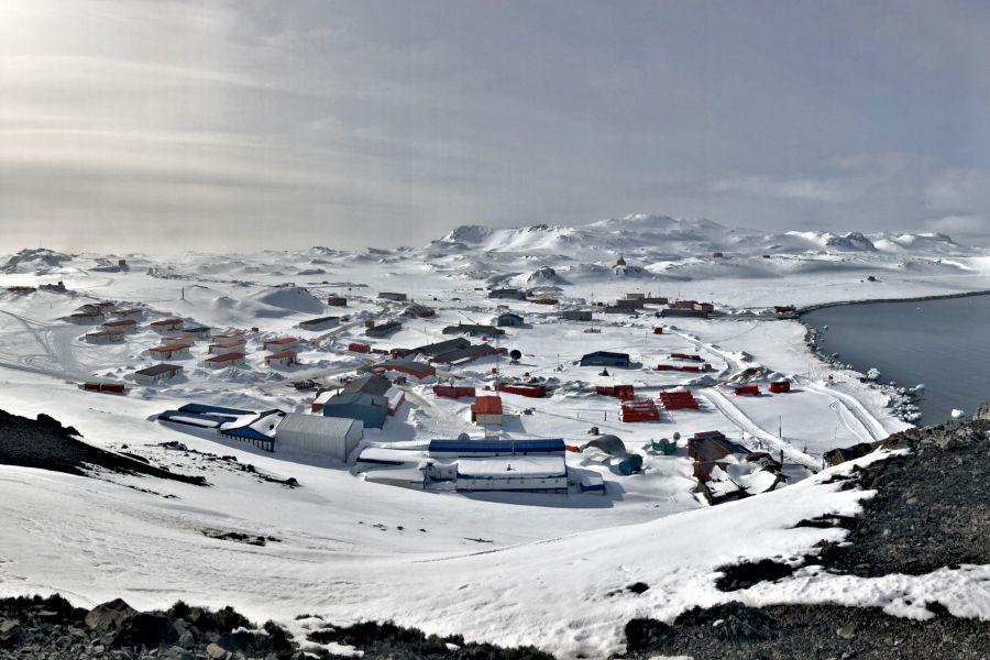 La Base Eduardo Frei forma parte crucial de la estrategia antártica de Chile. Foto: Fach