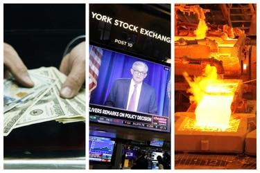 El dólar revierte la baja de esta mañana y sube tras la Reserva Federal y a pesar del fuerte aumento del cobre
