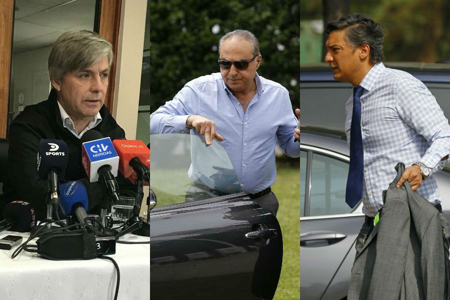 Candidatos, ANFP, Sebastián Moreno, Jorge Uauy, Harold Mayne Nicholls